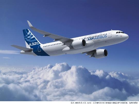 空客推出A320新发动机选装方案 降低油耗15%