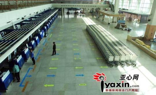 乌鲁木齐机场T2本周启用 5分钟办完值机手续