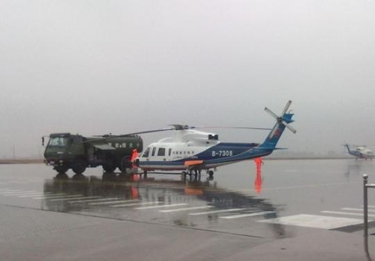南航珠直兴城基地年检工作,航班保障两不误;; ██兴城机场--南航珠直