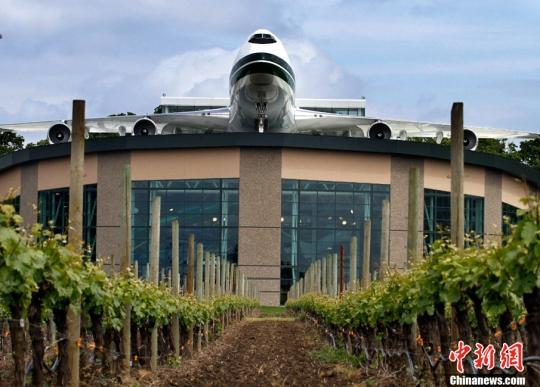 新奇! 波音747飞机制成的水上公园开张迎客 - 电子四组 - 浦东电子四组