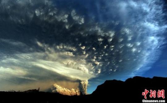 智利火山灰已飘至阿根廷 首都航班全部取消 - 电子四组 - 浦东电子四组