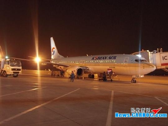 呼和浩特——首尔国际航线恢复通航 每周2班
