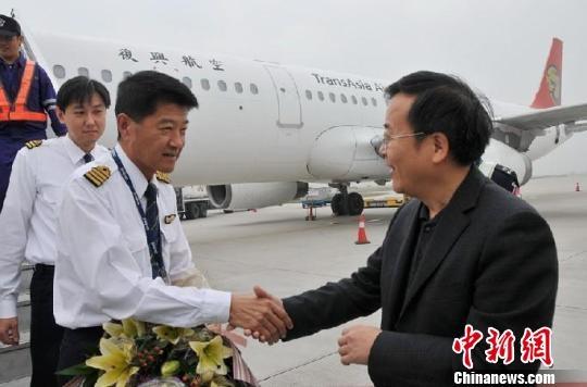 合肥首开至台湾高雄航班