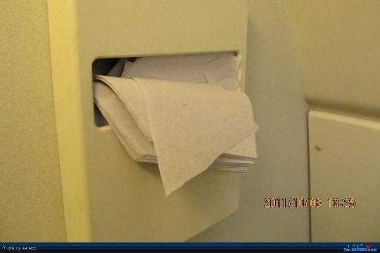 可爱乘乘教您安全卫生正确的使用机上洗手间