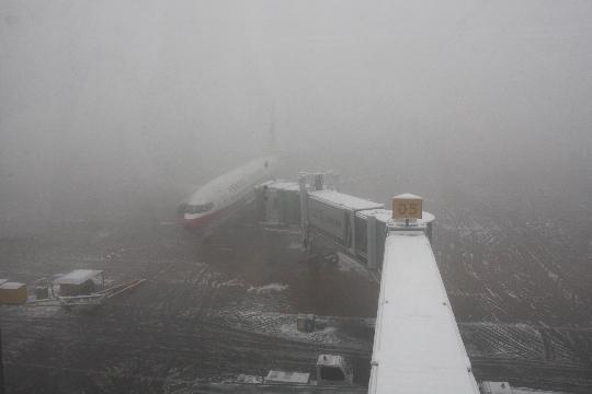 """石家庄机场为您""""支招""""雾天出行应注意事项"""