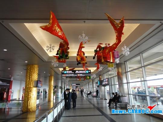 圣诞老人将现身厦门高崎机场