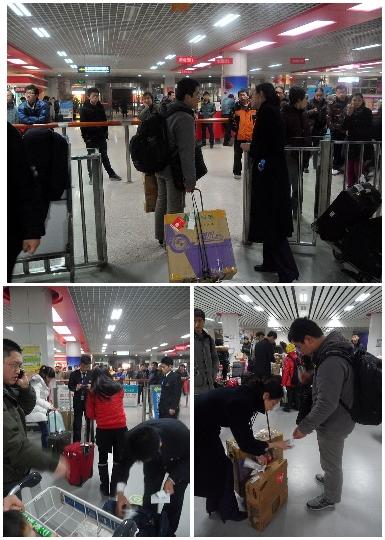 邯郸大雪 东航及时调整航班保旅客平安回家