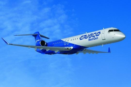 中航租赁引进国内第一架CRJ900 LR NextGen