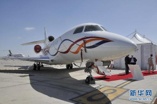 阿布扎比举办中东和海湾私人商务飞机航空展