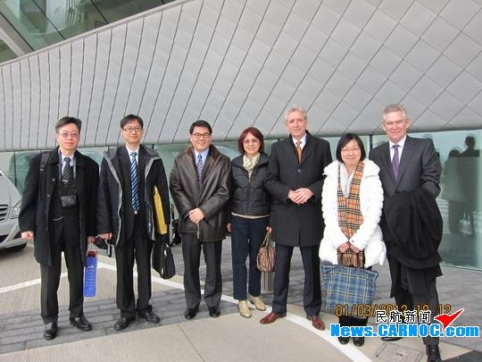 澳门国际机场专营公司参访英国范堡罗机场