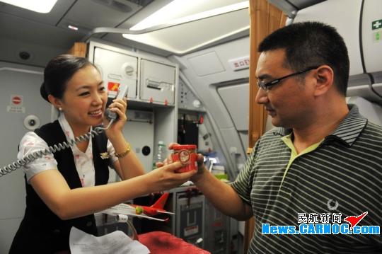深航党团示范组顺利保障深圳-扬州首飞航班