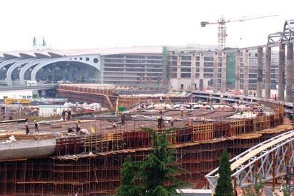 青岛流亭机场国际航站楼预计今年七月底封顶