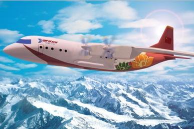 中邮航签订购买运8-f600型飞机的意向协议书