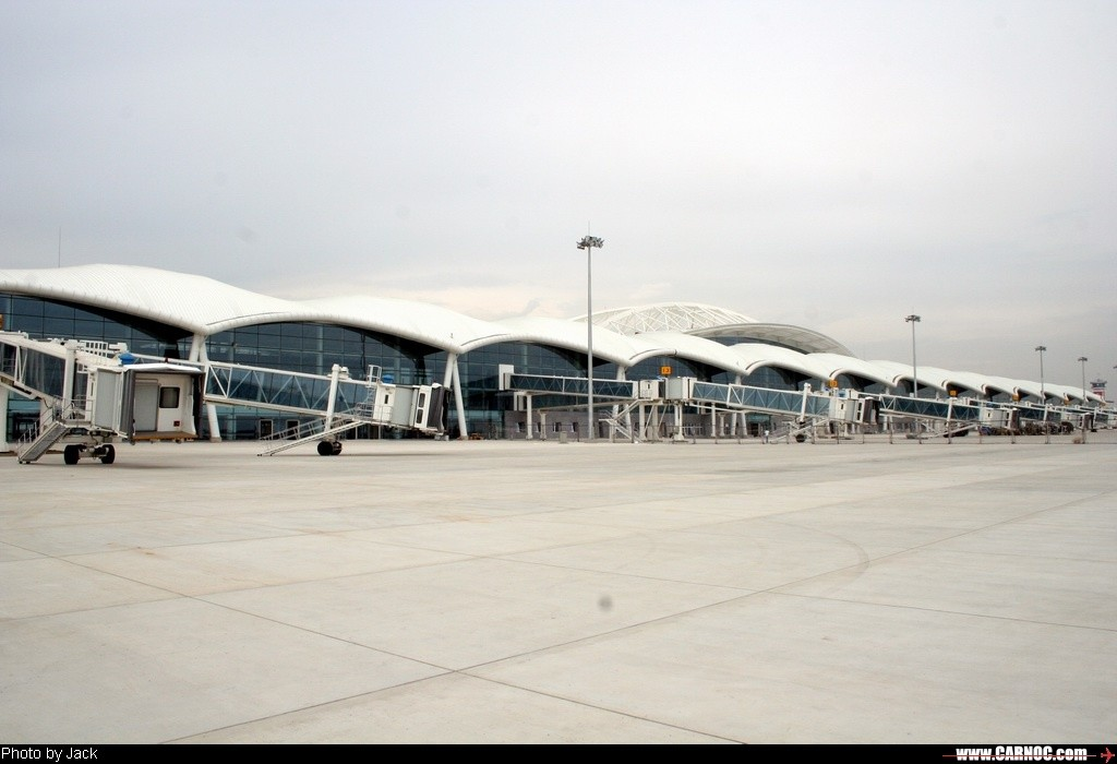 呼和浩特白塔机场新候机楼很漂亮啊[图片]